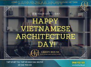 Ngày kiến trúc sư việt nam