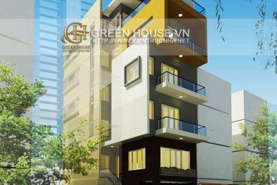 Biệt thự 6 tầng hiện đại 8m mặt tiền
