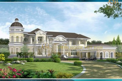 Dinh thự kiến trúc pháp đẹp