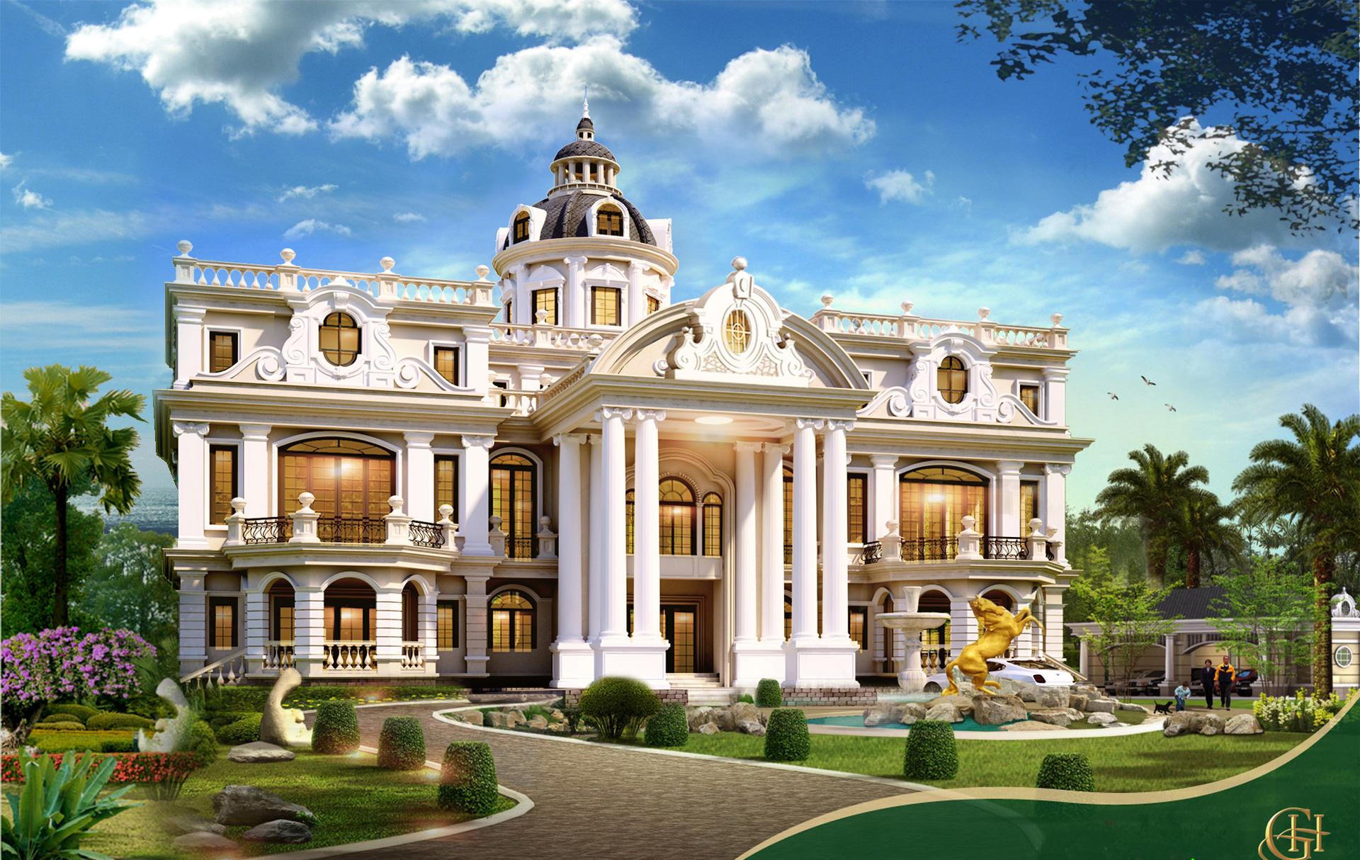 Biệt thự dinh thự cổ điển