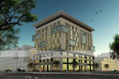 khách sạn - trung tâm thương mại