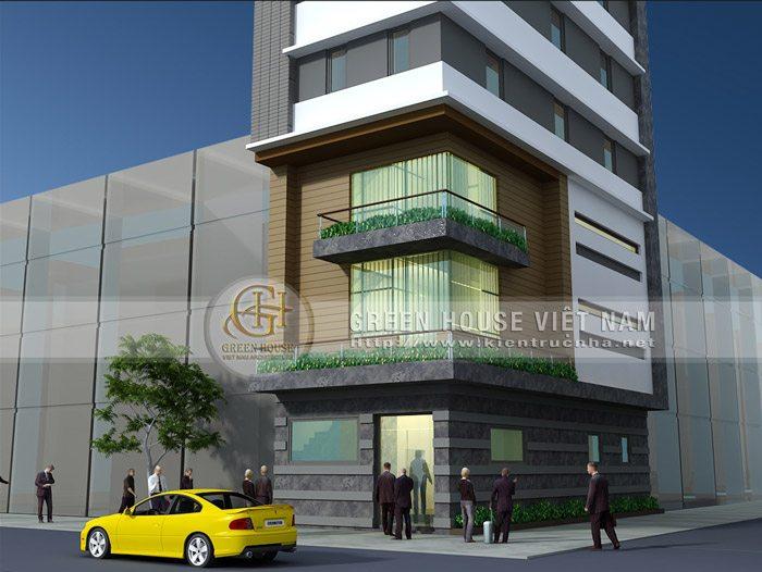 tòa nhà văn phòng 7 tầng