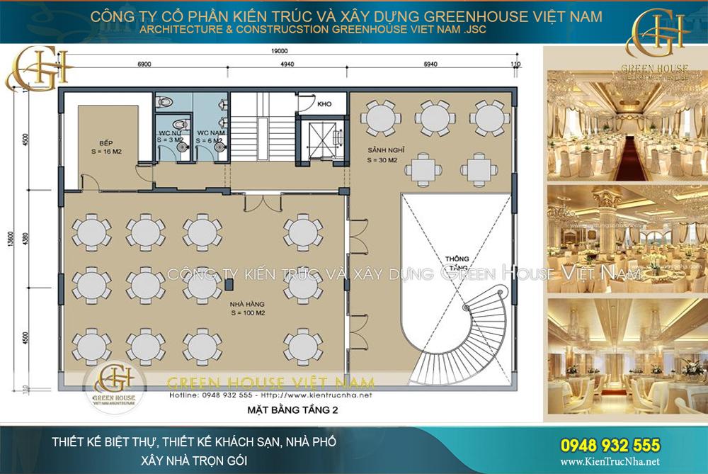 thiết kế khách sạn 3 sao 9 tầng dẹp