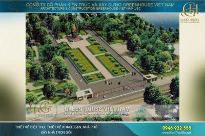 thiết kế công viên ngô gia tự