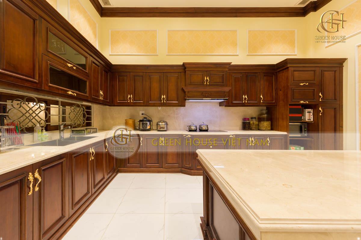 phòng ăn và nhà bếp