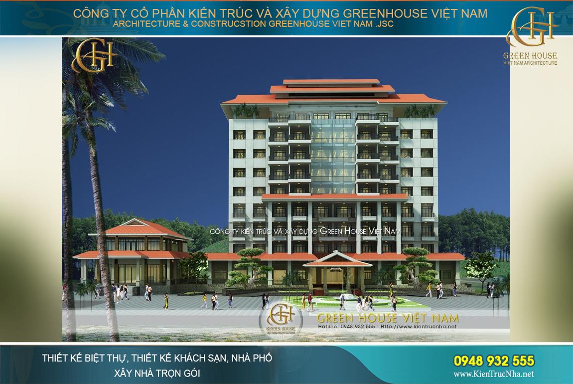 thiết kế tổ hợp khu nghỉ dưỡng