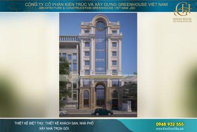 tòa nhà cho thuê văn phòng 7 tầng