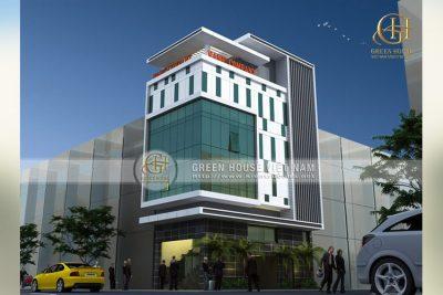 tòa nhà cho thuê văn phòng 5 tầng