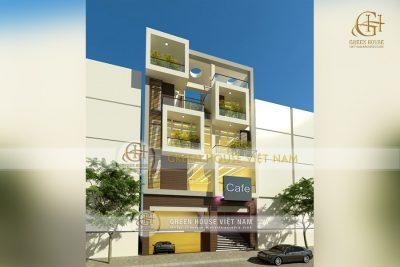 nhà phố 3 tầng mặt tiền 12m kinh doanh