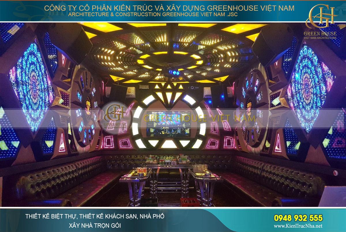 nội thất quán karaoke