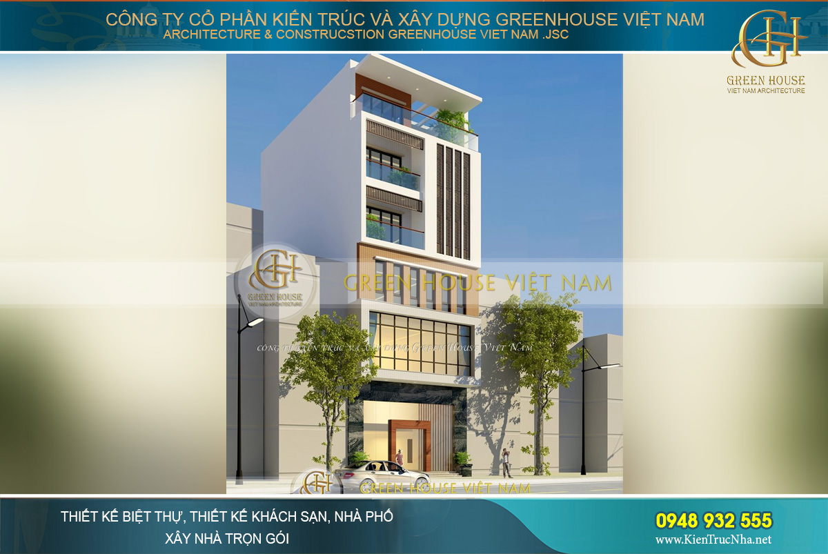 thiết kế tòa nhà văn phòng cho thuê tại Hà Nội