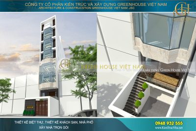 nhà phố 8 tầng kết hợp kinh doanh