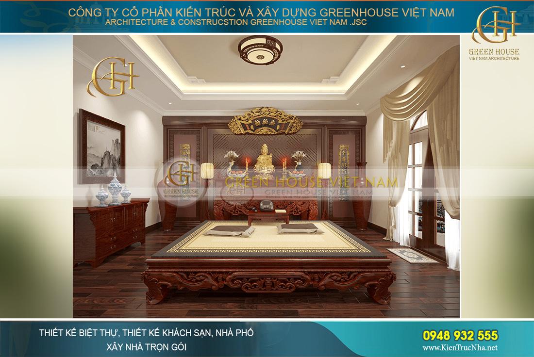 thiết kế nội thất biệt thự tân cổ điển tại Bắc Giang