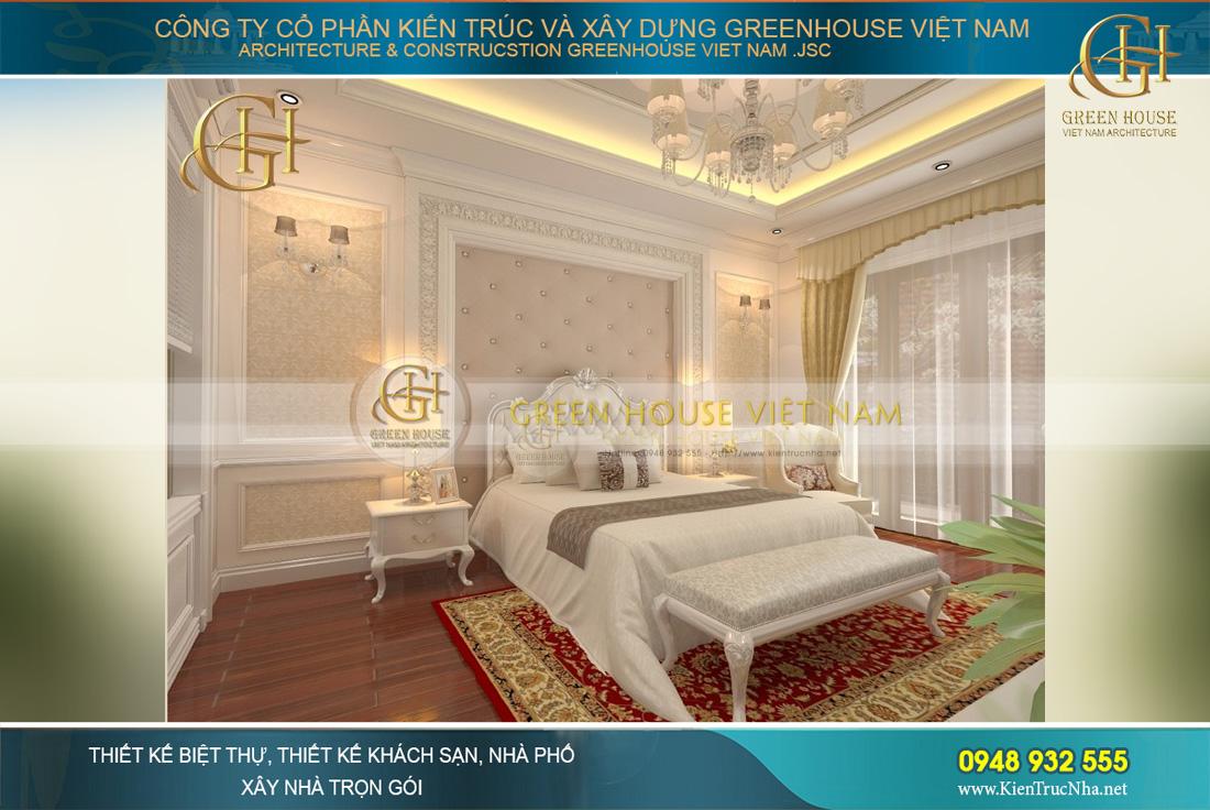 thiết kế nội thất biệt thự tân cổ điển Hà Nội