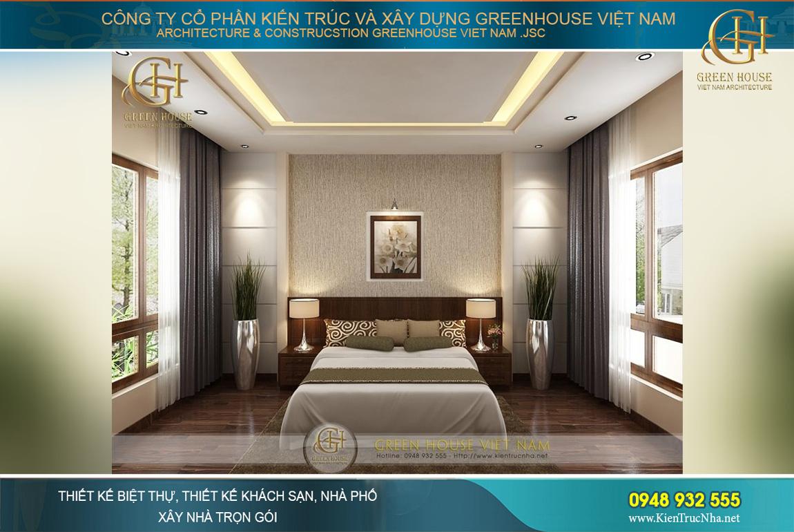 thiết kế nội thất biệt thự hiện đại 4 tầng Hà Nội