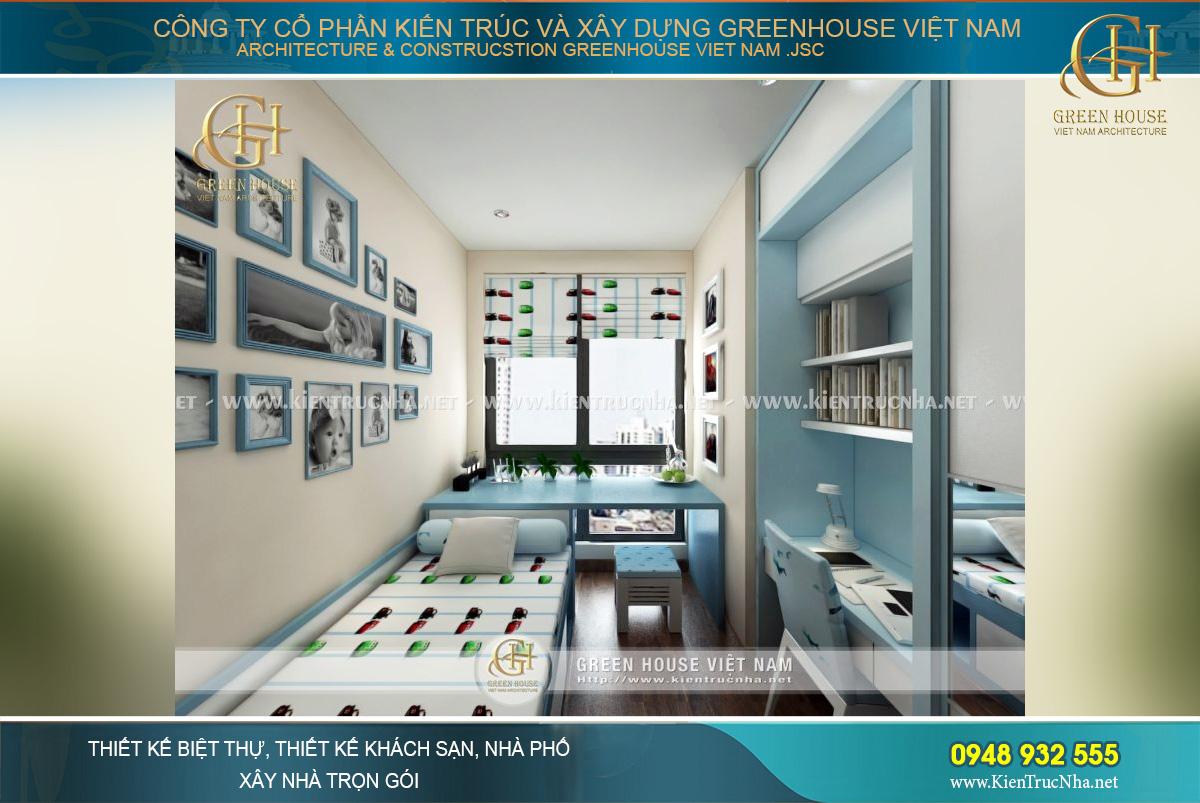 thiết kế nội thất căn hộ chung cư tại Hà nội