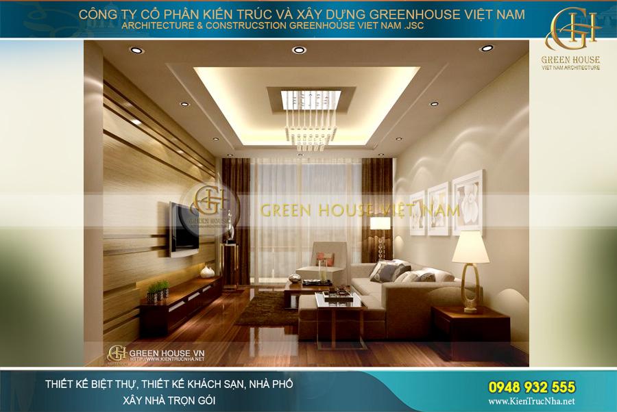 thiết kế nội thất căn hộ chung cư tại Mandarin Garden Hà Nội