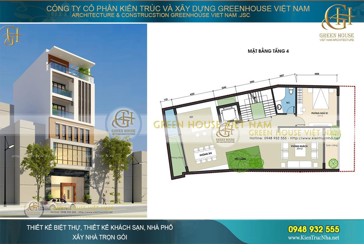 thiết kế tòa nhà văn phòng tại Hà Nội