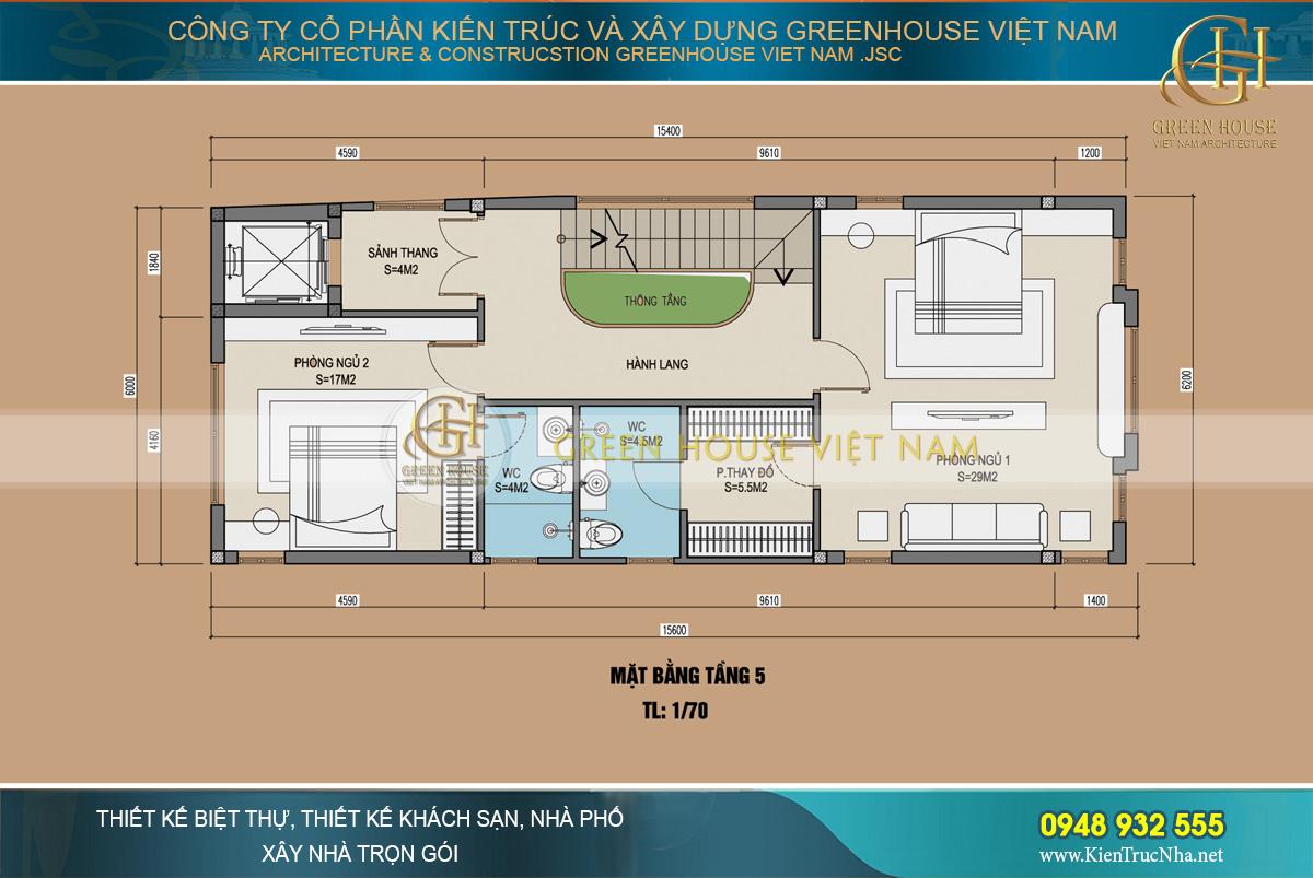 thiết kế nhà phố tân cổ điển kết hợp kinh doanh tại hà nam