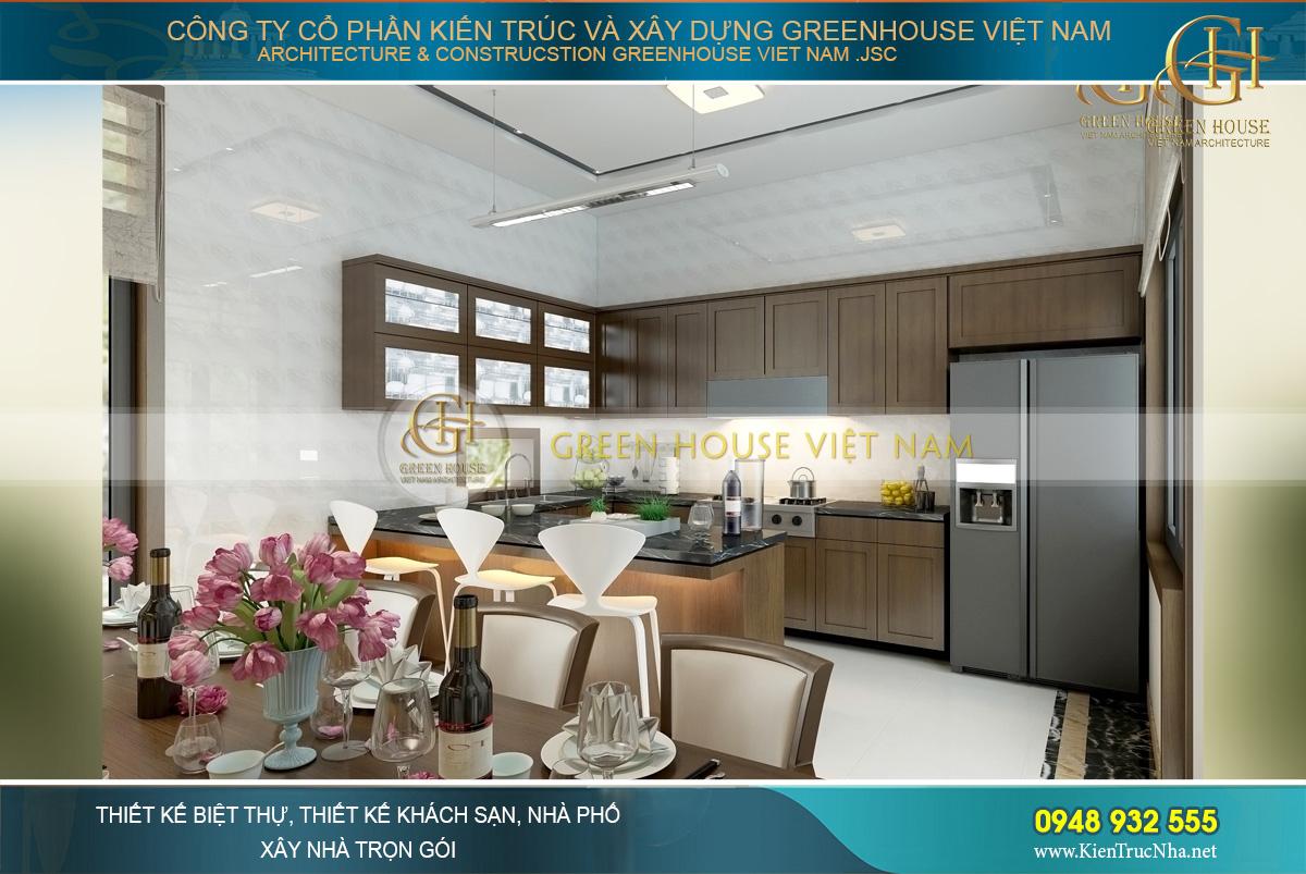 thiết kế nội thất nhà phố hiện đại 3 tầng Bắc Giang
