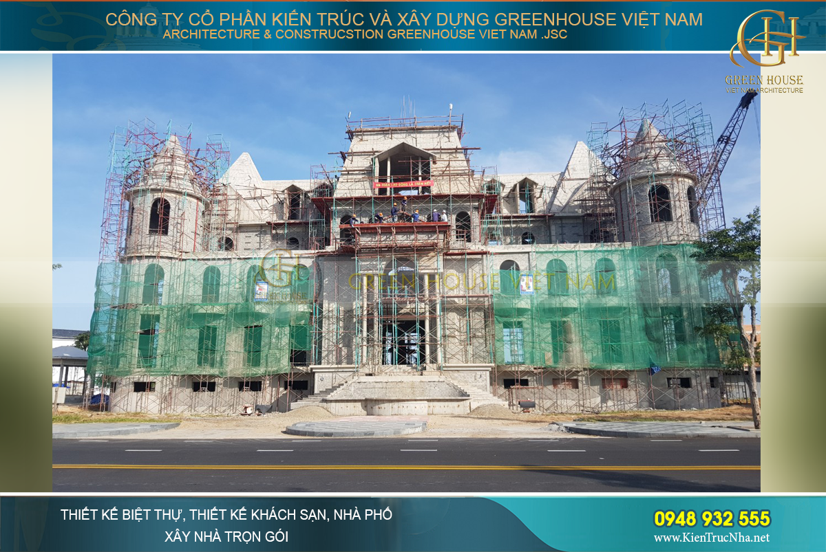 Khởi công xây dựng dinh thự Dạng Đông