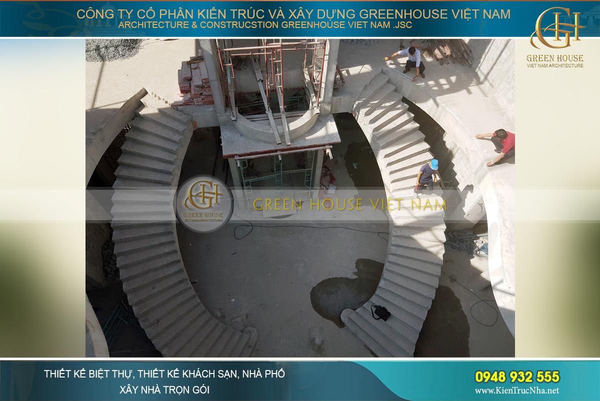 thi công xây dựng biệt thự cổ điển tại Phan Thiết