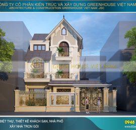 mẫu biệt thự tân cổ điển đẹp tại Hà Nội