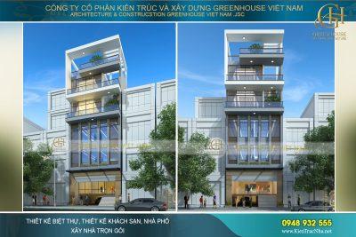 thiết kế tòa nhà văn phòng đẹp tại Hà Nội