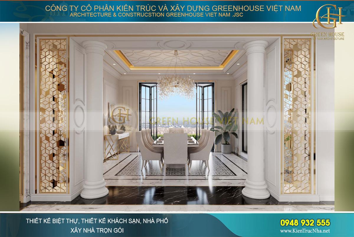 thiết kế biệt thự vinhomes riverside hà nội