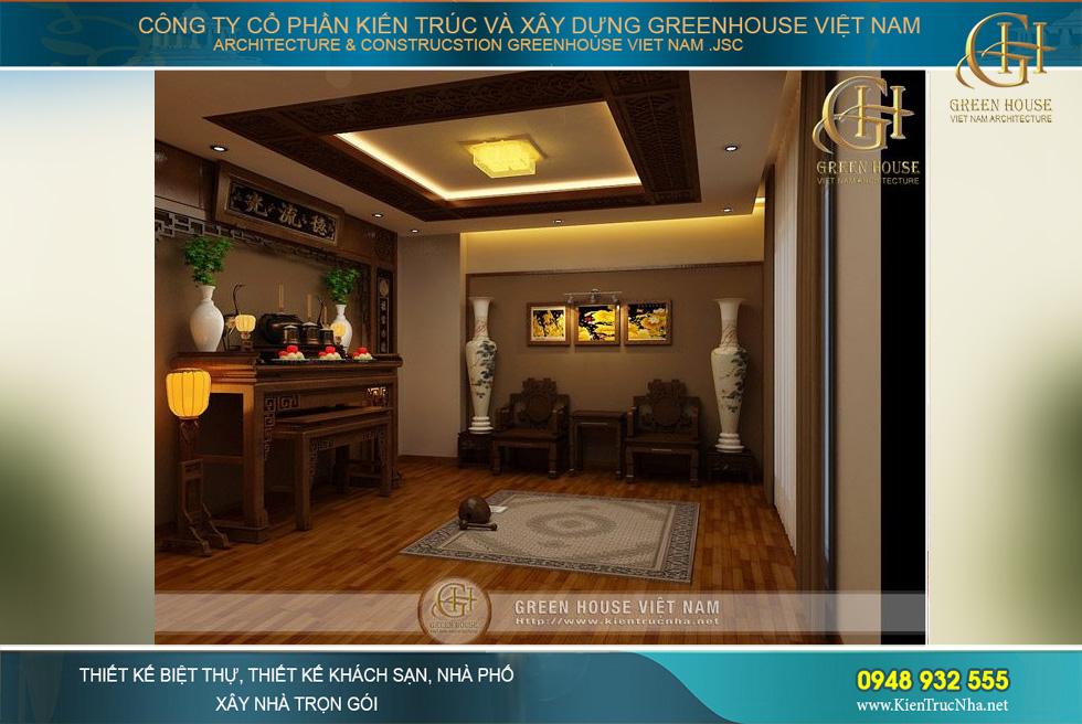thiết kế nội thất cửa hàng vàng tại bắc giang