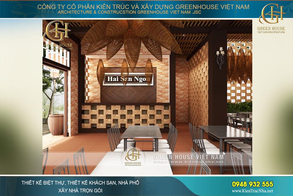thiết kế nhà hàng hải sản đẹp bắc giang