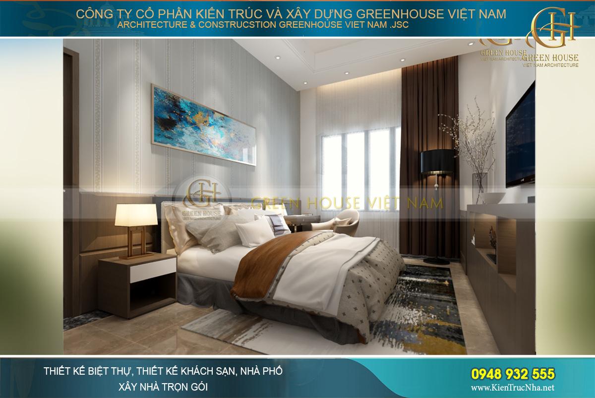 thiết kế nội thất biệt thự hiện đại Bắc Giang