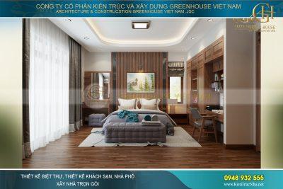 nội thất nhà phố hiện đại tại Ninh Bình
