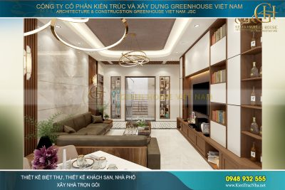 nội thất chung cư hiện đại 70m2
