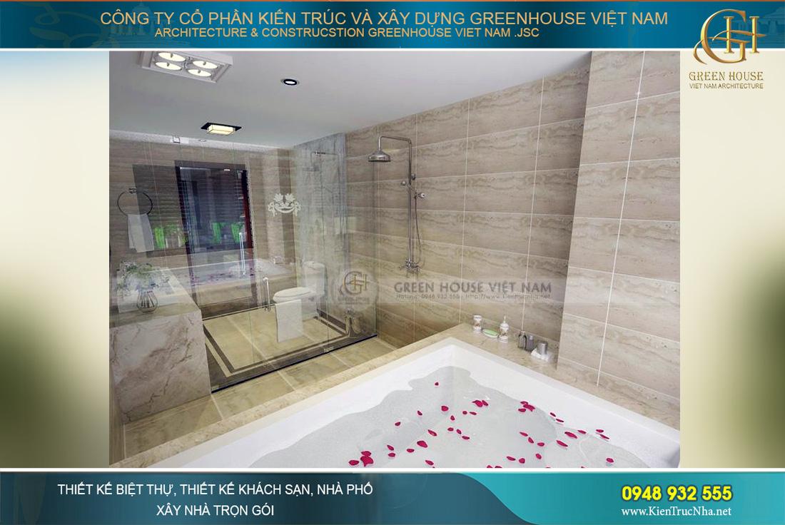 thiết kế phòng tắm nhỏ đẹp