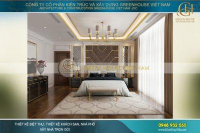 thiết kế nội thất biệt thự tân cổ điển Vinhomes Hà Nội
