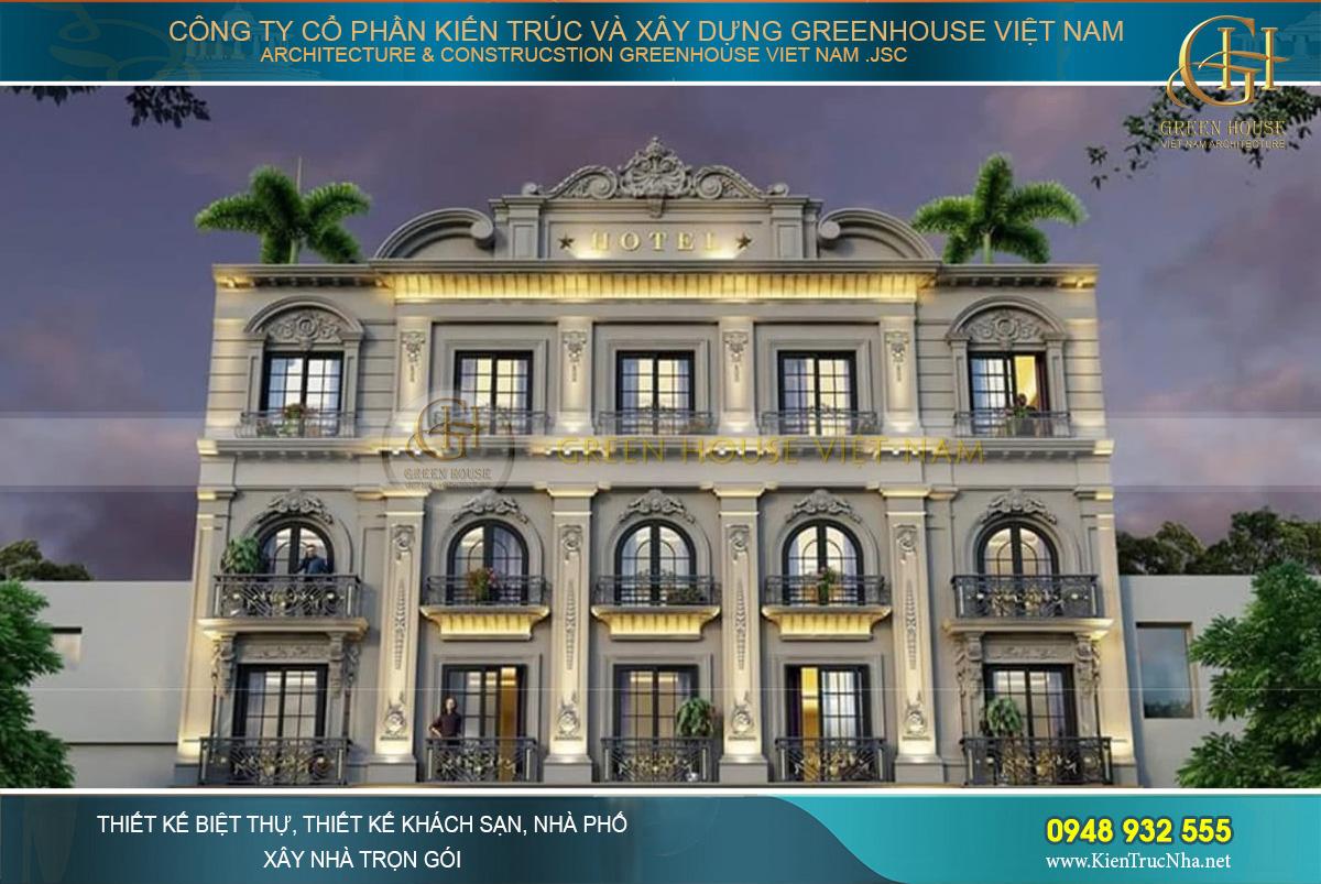 mẫu khách sạn đẹp tại Khánh Hòa