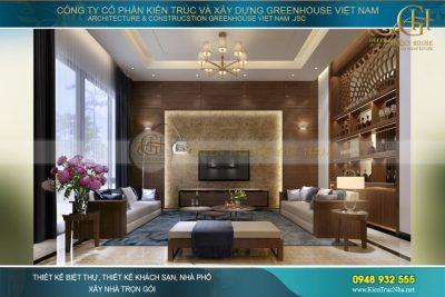 thiết kế nội thất biệt thự hiện đại tại Thái Nguyên