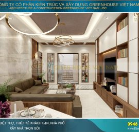 thiết kế nội thất chung cư The Minato Residence, Hải Phòng