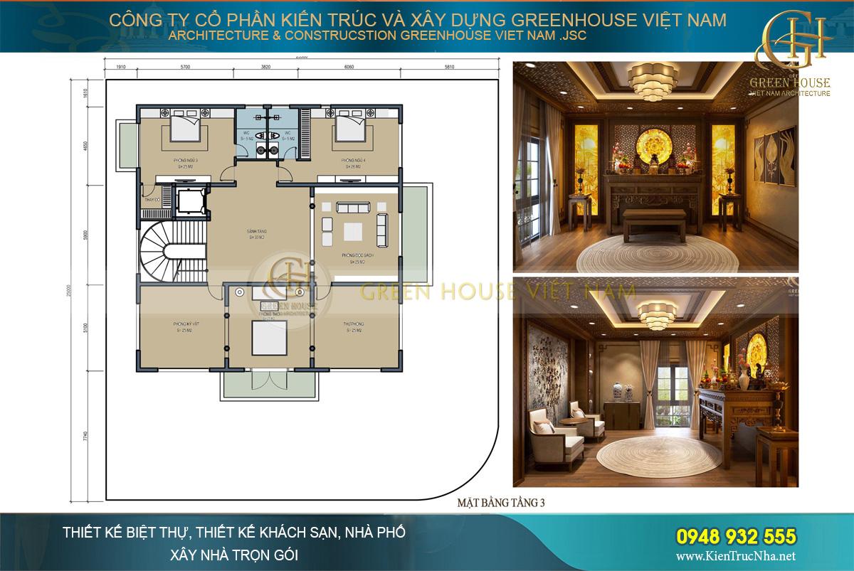 biệt thự tân cổ điển 3 tầng tại đà nẵng