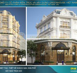 mẫu nhà phố kết hợp khách sạnmẫu nhà phố kết hợp khách sạn