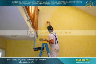 cách sơn tường bền đẹp