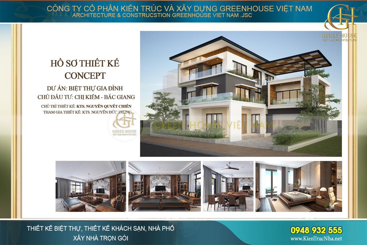 Thiết kế biệt thự 3 tầng hiện đại mang đến phong cách trẻ trung, năng động